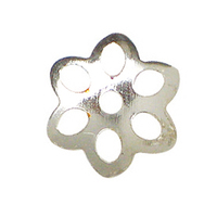 DIY jewelry findings accessory sterling silver bead cap