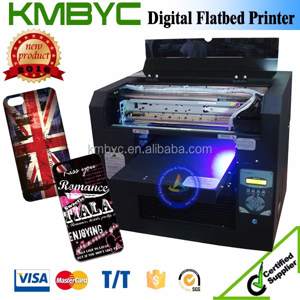 flatbed inkjet A3 phone case UV Printer