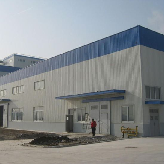 China Made Prefabricated Metal Frame Warehouse Manufacturer