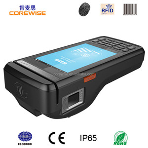 Android Handheld POS Terminal with digital persona fingerprint scanner-CPOS800