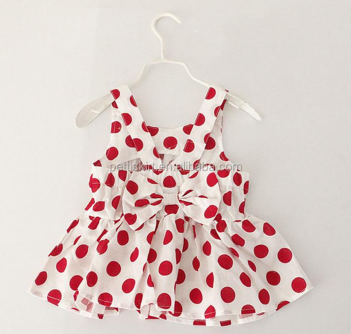 Short Sleeve Baby Dress Cutting 100%cotton Woven Summer Baby Dress ...