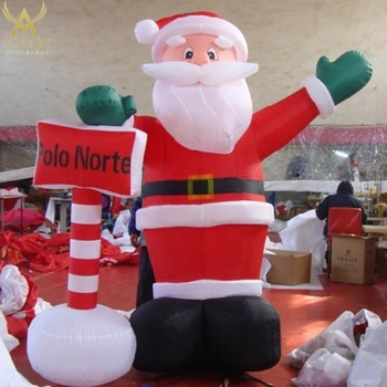 4b8fc6375572a 2018 Hot Sale Inflatable Santa Claus Balloon For Advertising - Buy ...
