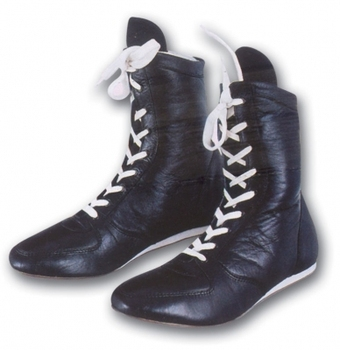 Leather Boxing Shoes Product on Alibaba