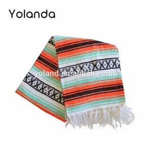 Cheap Wholesale Solid Color Mexican Blankets Super Soft