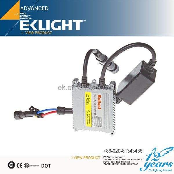 EK LIGHT Smart System Super bright And Stable Xenon HID Headlight,xenon bulb h4 p45t