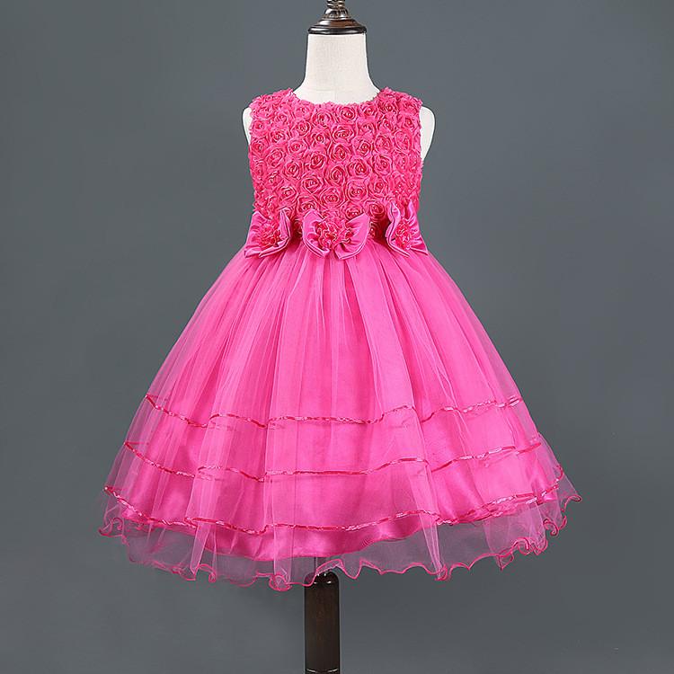 Venta al por mayor vestidos de fiesta niña 10 años-Compre online los ...