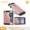 tpu+pc plastic case for iphone 5,6,6s,6plus cell phone accessories