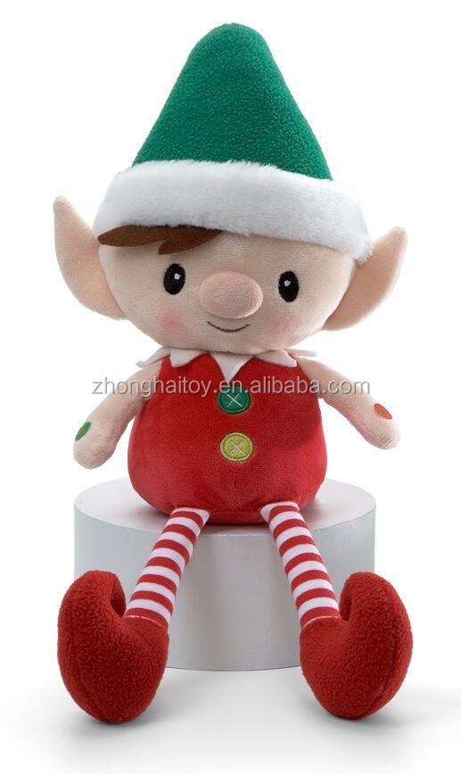 Plush Elf Toy Cute Elf Plush Toys Plush Stuffed Christmas Elf Toy