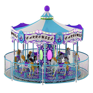 Hotselling Amusement Park Carousel Horse Rides For Sale