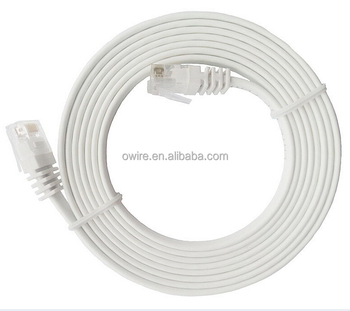 Flat Patch Cord Rj45 Utp Cat6 Flat Ethernet Cable With Ce/ul ...