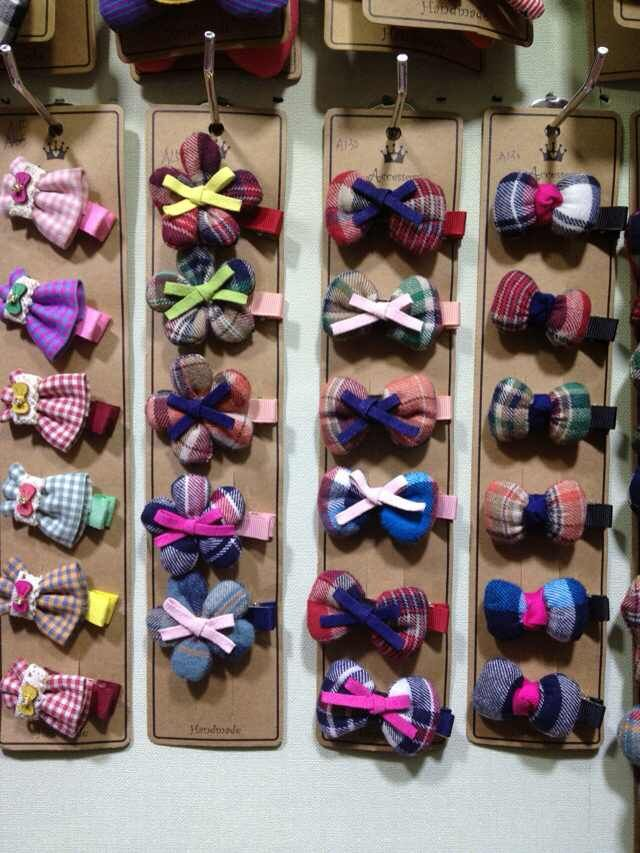 Doulbe Color Cute Bowknot Fancy Hair Acessory