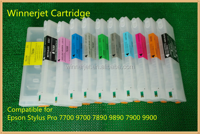 for epson 9900 refill pigmented ink cartridge