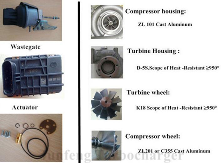 Td06-7 Turbo 49179-02712 Me303063 Me304031 Me304598 Turbocharger ...