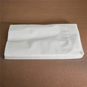 Custom Printed Napkins Virgin Wood Pulp Material Dinner Napkin