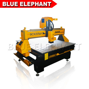 Customized size working table cnc wood engraving machine for wood 1200*1200 , cnc 1212 router