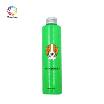 Colortour green hair color dye pet hair dye for dogs