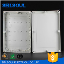 China Supplier ABS Plastic Cabinets, 380x260x105mm Sealed Waterproof Electrical Industrial Socket Boxes