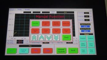 mcgs touch screen bga machine