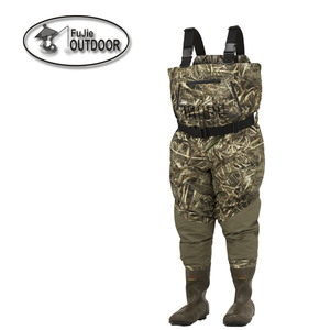 Multi-climate Breathable Insulated Bootfoot Camo Hunting Waterproof Durable Neoprene Waders