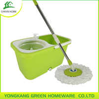 NEW SPIN MOP 360 SPIN ROTATE MAGIC MOP, HEAD BUCKET TILE VINYL WOOD DRY WET FLOOR CLEANER