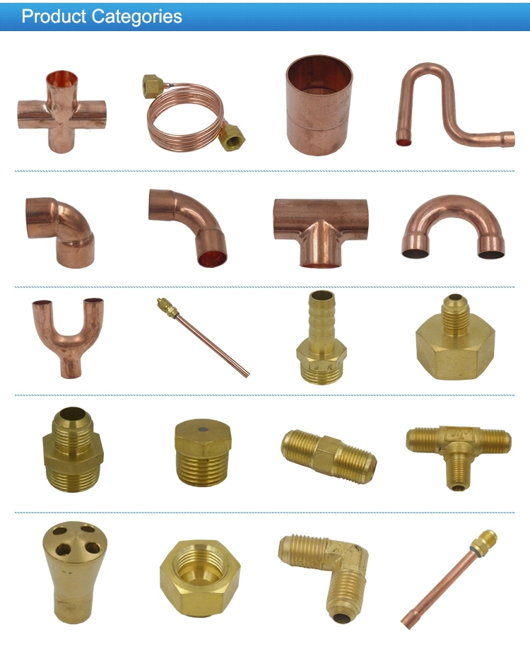 Wholesale Copper Tube Fitting 45 90 Elbow CxC for air conditioning