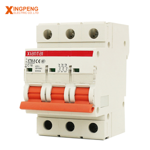 Miniature circuit breaker 16 amp 3pole thermal overload protector switch bkn c20 circuit breaker mcb