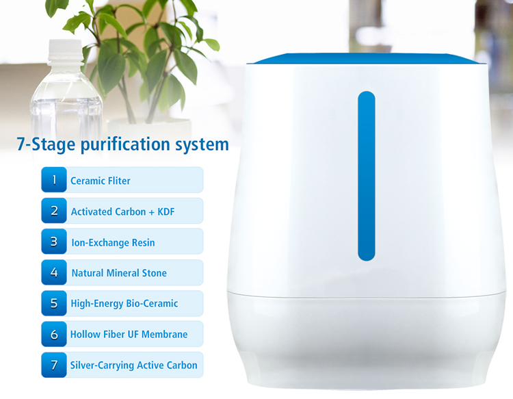 china cheap mini water purifier for home use