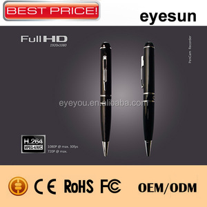 High Quality HD Spy Pen Camera 720p/60fps with H.264 memory support Webcam