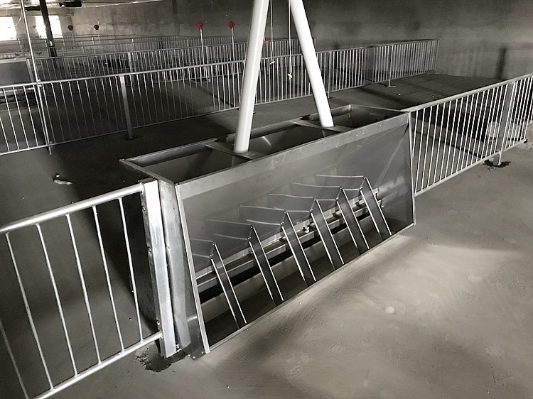 Modern pig farm Pig fatten crate for Finishing pigs