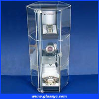 Popular promotional hot sale cheap price new style transparent acrylic watch display stand