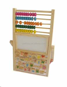 New Multifunction Wooden Early Education bead alphabet jade Abacus