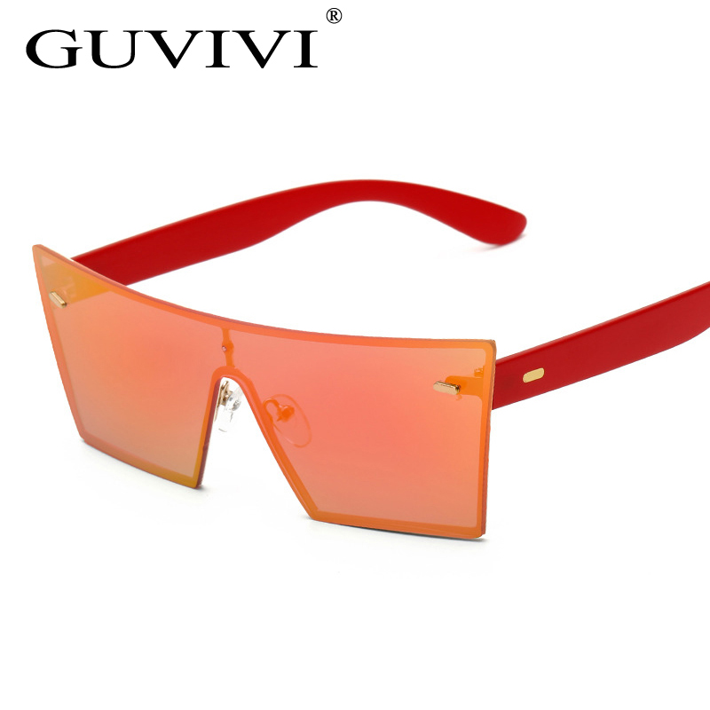 df71c45a73 2017 nueva moda de gran tamaño F D Un eco sol claro gafas de sol de China  de fábrica