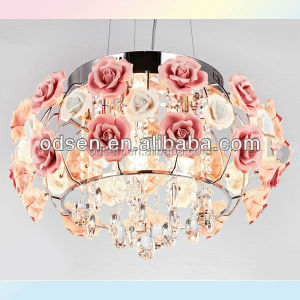 centerpieces hot pink rose wedding chandelier