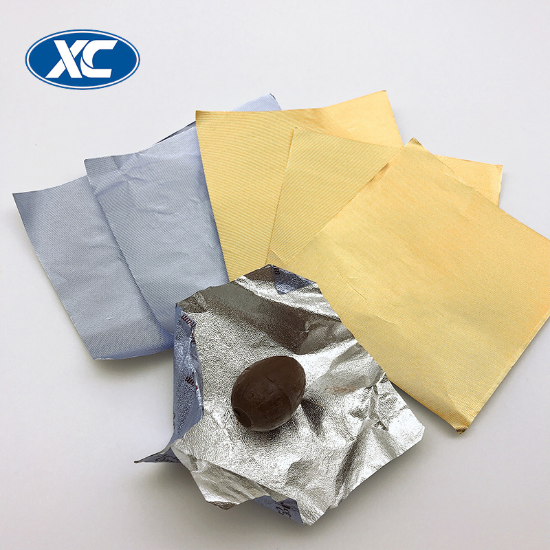 custom colored corrugated aluminum foil chocolate wrapping sheets