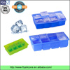 "Manufacturer FDA approved perfect size 2"" non-sticky silicone ice cube tray"
