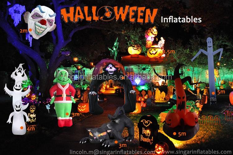 inflatable halloween halloween halloween yard decorations