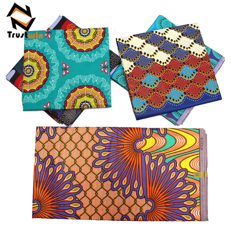 Prix de gros africain cire imprime tissu ankara tissu