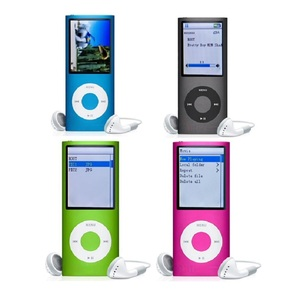 For Promotional gift colorful battery portable mini digital mp3 / mp4 player with digital screen and user manual