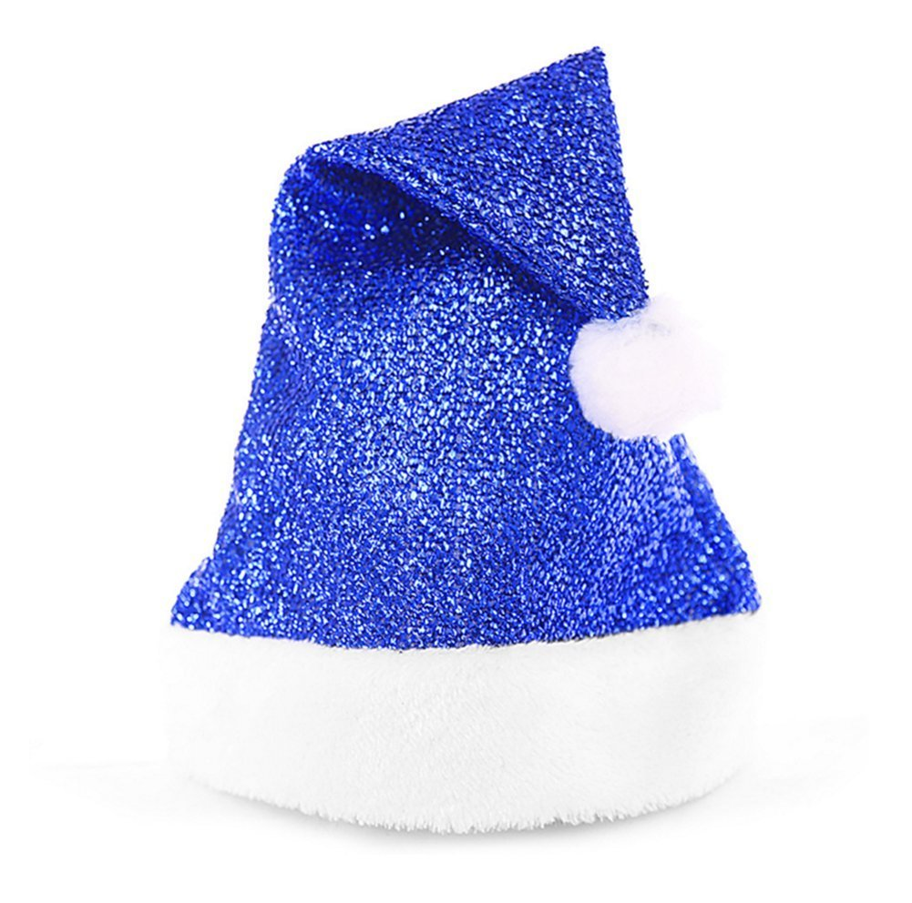 b57dabcba6160 Wa Sequin-Sheen Santa Hat Christmas Accessory Gift Shiny Santa Hat