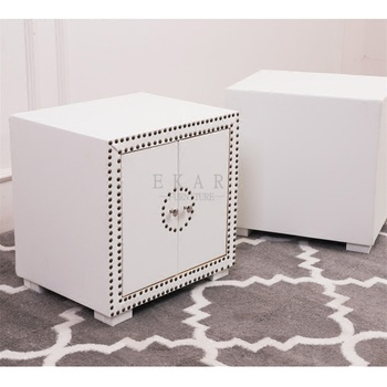 Bedroom furniture cabinet white leather bedside table buy bedside bedroom furniture cabinet white leather bedside table watchthetrailerfo