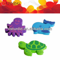 eco-friendly children bath eva toy for animal