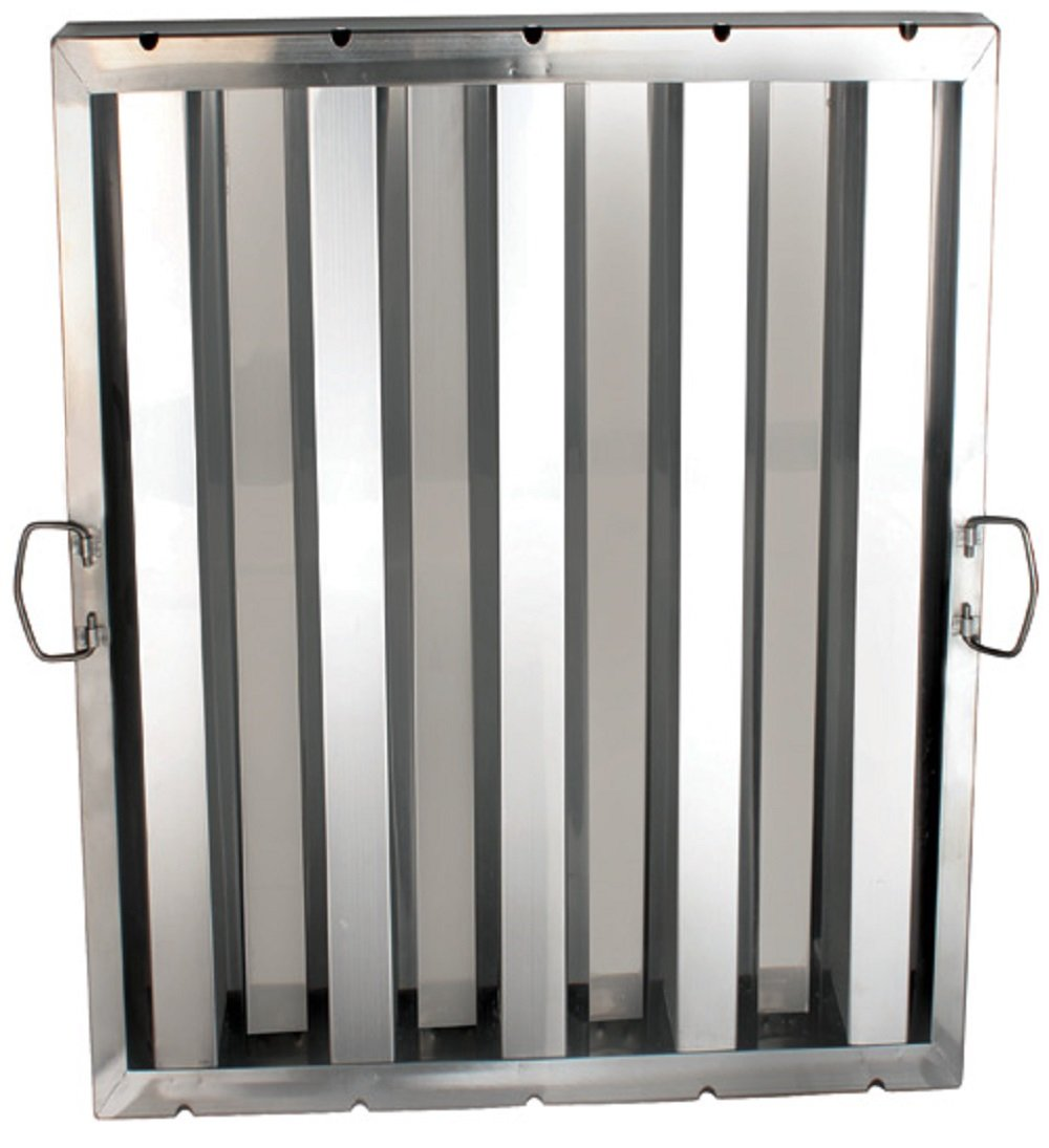 """AmGood Stainless Steel Hood Grease Filter   Pack of 6 Filters   All Sizes (20"""" Length X 25"""" Width)"""