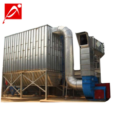 Industrial Baghouse Pulse Jet Air Filters / Bag Filter Type Pulse Jet Dust Collector