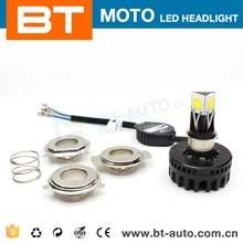 Car/Motorcycle Accessories 6000K-6500K 24W H4 H6 H7 H8 3 Side Led For Motorcycle