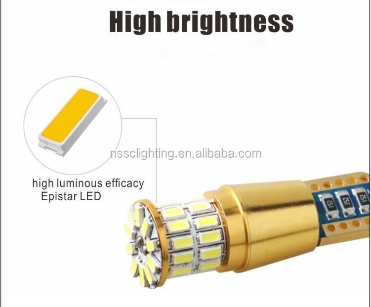 12V 24V T10 12SMD Car LED LIght Bulb 2835 SMD Chip