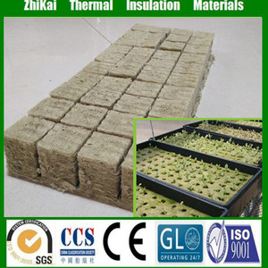 Hydroponic Rock Wool for Ecological plant wall material, agricultural rock wool for hydroponic planting