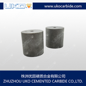 Cemented carbide cold forming tools for heading machine