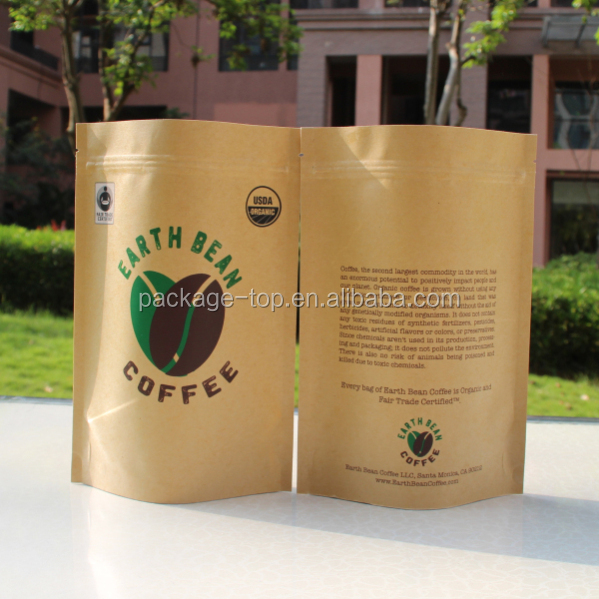 factory price custom made recyclable flat handle brown kraft paper/brown kraft paper bags with your logo