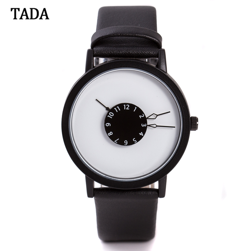 Brand TADA T1010 3ATM Waterproof <strong>Men</strong> And Women's Genuine Leather Watches Japan Movement Watches Lady Fashion Watches Reloj