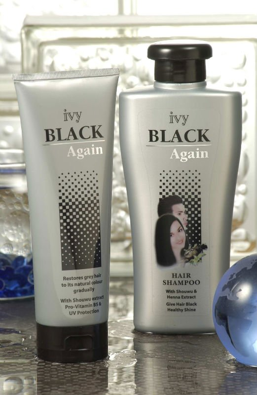 Ivy Black Again Hair Care Products
